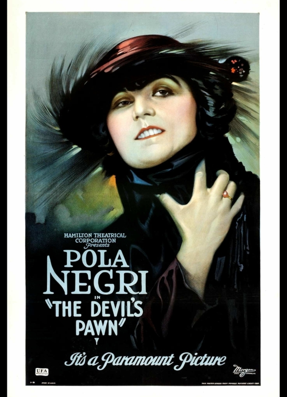Pola Negri in The Devil's Pawn, 1922